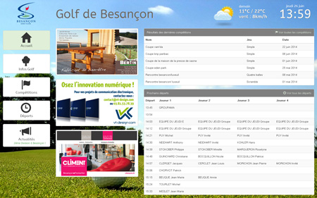 ScreenShot de l'interface